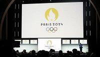 Logo spojující v sobě zlatou medaili, olympijský oheň a tvář Marianne bude provázet olympijské a paralympijské hry v Paříži v roce 2024