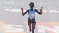 Světová rekordmanka v ženském maratonu Mary Keitanyová