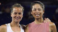 Barbora Strýcová a Sie Šu-wej usilují o vítězství v anketě Nejlepší deblový pár měsíce.