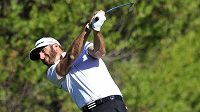 Golfista Dustin Johnson na turnaji v Kalifornii.