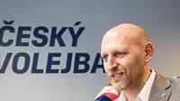 Marek Pakosta, předseda volejbalového svazu.