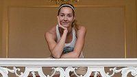 Denisa Rosolová má důvod k úsměvu, zranění nohy se před mistrovstvím světa v Moskvě povedlo vyléčit.