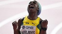 Shelly-Ann Fraserová-Pryceová poběží na olympijských hrách v Tokiu stovku i dvoustovk