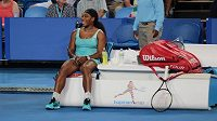 Americká tenistka Serena Williamsová