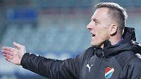 Trenér fotbalistů Baníku Ostrava Luboš Kozel.