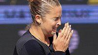 Shelby Rogersová neskrývala po zápase slzy dojetí