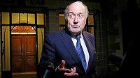 Bývalý předseda FIFA Sepp Blatter.