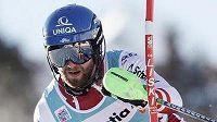 Rakouský lyžař Marco Schwarz si ve švýcarském Adelbodenu dojel pro první vítězství v klasickém slalomu Světového poháru.
