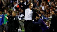 Kouč Chelsea Frank Lampard slaví gól