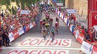 Peter Sagan prohrál na Vueltě spurt s Alejandrem Valverdem.