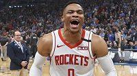 Russell Westbrook se při prvním návratu do Oklahoma City po letním přestupu do Houstonu dočkal vřelého přijetí