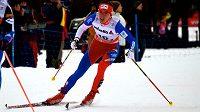 Eva Vrabcová-Nývltová při šesté etapě Tour de Ski ve Val di Fiemme.