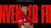 Jezdec virtuálních závodů Filip Prešnajder bude od nové sezony jezdit za tým Ferrari Esports