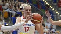 Česká basketbalistka Kamila Štěpánová.