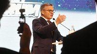Prezident Mezinárodní hokejové federace IIHF René Fasel.