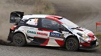 Finskou rallye vyhrál Brit Elfyn Evans s toyotou
