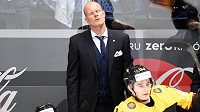 Trenér německé hokejové reprezentace Toni Söderholm