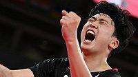 Korejský stolní tenista Čong Jong-sik