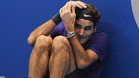 I Roger Federer má někdy špatný den