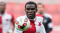 Záložník Slavie Praha Michael Ngadeu do Fulhamu nejde.