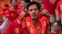 Čínští fanoušci.