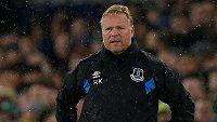 Ronald Koeman, dnes již bývalý trenér fotbalistů Evertonu.