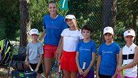 Karolína Plíšková uspořádala další ročník tenisového kempu.
