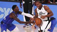 Basketbalisté Los Angeles Clippers v klíčovém pátém utkání osmifinále play off NBA deklasovali Dallas 154:111