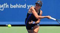 Barbora Strýcová v akci během US Open