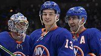 Největší hvězdou uplynulého týdne NHL byl vyhlášen centr Mathew Barzal z New York Islanders