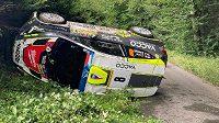 Talentovaný pilot Cais kvůli havárii nedosáhl na životní úspěch při Barum rallye.