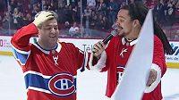 Patrick Proteau se z hokeje v Montrealu vrátil o 50 tisíc dolarů bohatší.