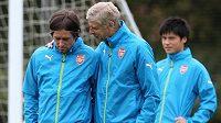 Tomáš Rosický v Arsenalu hodně trénuje, ale na hřiště jej manažer Arsené Wenger pošle jen sporadicky.