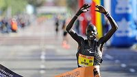 Keňský běžec Abraham Kiptum vylepšil světový rekord v půlmaratonu