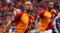 Fotbalisté Galatasaraye Istanbul obhájili titul v turecké lize.