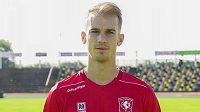 Útočník Twente Enschede Václav Černý.
