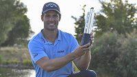 Vítěz golfového turnaje Czech Masters Andrea Pavan z Itálie.