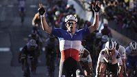 Francouz Arnaud Démare se mohl radovat z vítězství