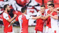 Slavia je posledním českým týmem v pohárové Evropě.