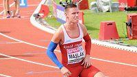 Běžec Pavel Maslák na ME v Amsterdamu.