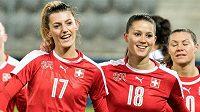 Švýcarská fotbalistka Florijana Ismailiová (17).