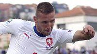 Pavel Kadeřábek během utkání v Kosovu.
