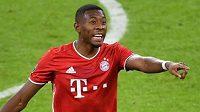Rakouský zadák Bayernu Mnichov David Alaba v bavorském velkoklubu s největší pravděpodobností skončí.