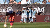 Hráči Celty Vigo oslavují gól. Ilustrační foto.