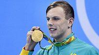 Australský plavec Kyle Chalmers se podrobil třetí operaci srdce