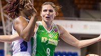 Basketbalistky KP Brno prohrály rozhodující třetí zápas Evropského poháru (archivní foto)
