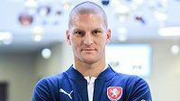 Zdeněk Ondrášek na srazu fotbalové reprezentace.