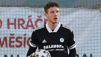 Brankář Bohemians 1905 Hugo Bačkovský si odbyl proti Opavě premiéru v české lize.