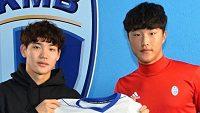 Choi Seyun a An Jaejun s dresem Mladé Booleslavi.