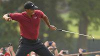 Americký golfista Tiger Woods dokazuje, že pořád umí.
